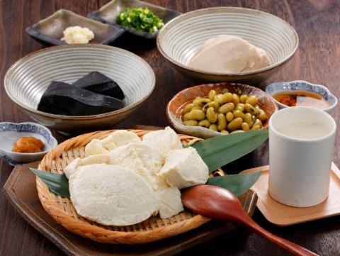 佐賀「川島豆腐店」ざる豆腐セット