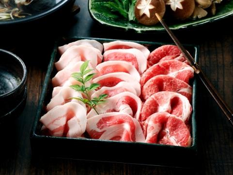 鹿児島「カミチク」九州産南国スイート豚しゃぶしゃぶセット