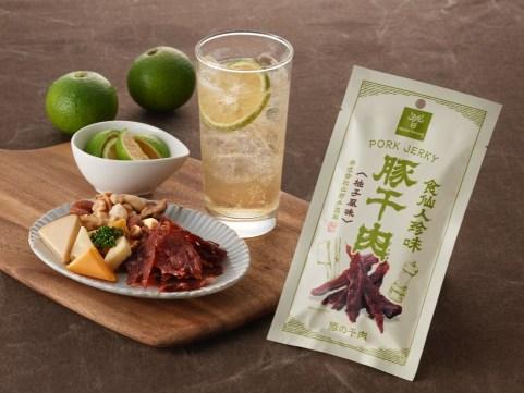【 九旬直送便 】<br>鹿児島「山野井」食仙人珍味 豚干肉