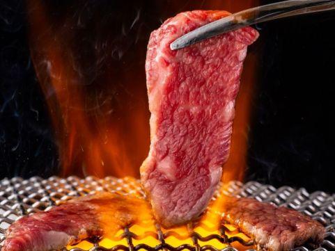 【 九旬直送便 】<br>九州産黒毛和牛焼肉用ロース肉