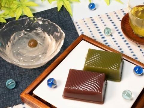 【 九旬直送便 】<br>福岡「八女の涼」八女茶菓子