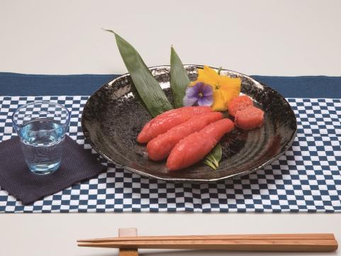 【 九旬直送便 】<br>福岡「博多漁師の里」辛子明太子 上切子
